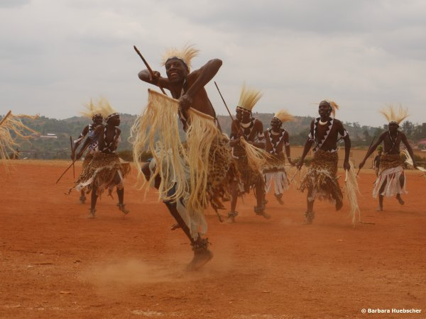 Warrior Dancers, Kirundo, Burundi