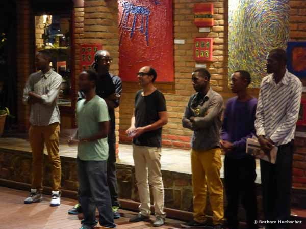 Kigali, Inema Arts Center, Restaurant Heaven