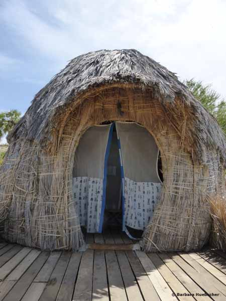 Eliye Springs Lodge, Turkana Land, Kenia, Flamingo, Pelikan, Reise