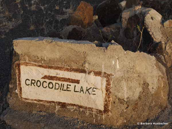 Crocodile Lake, Central Island,