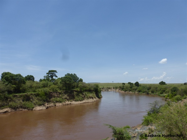 Mara Fluss, Mara River, Crossing