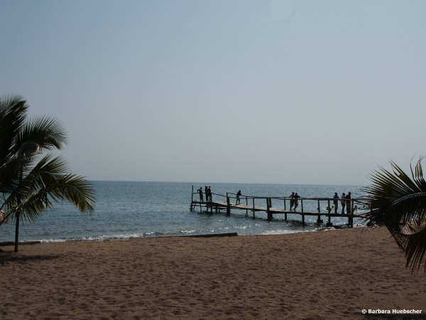 Strand beim Blue Bay Beach Resort